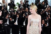 Kirsten Dunst Strapless Dress