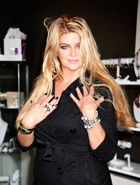 Kirstie Alley Statement Ring