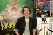 Kodi Smit-McPhee Leather Sneakers