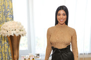 Kourtney Kardashian Knit Top