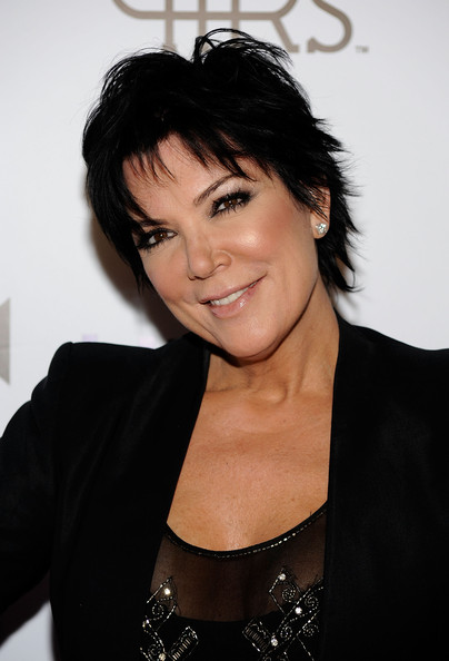 Tv personaluty Kris Jenner arrives at the Lamar Odom Launches Rich Soil At