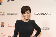 Kris Jenner Form-Fitting Dress