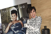 Kris Jenner Print Dress