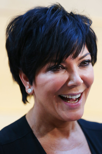 Kris Jenner Messy Cut [nomad two worlds book launch - arrivals,hair,face,hairstyle,facial expression,black hair,eyebrow,chin,head,smile,forehead,kris jenner,russell james,australia,sydney,book launch]
