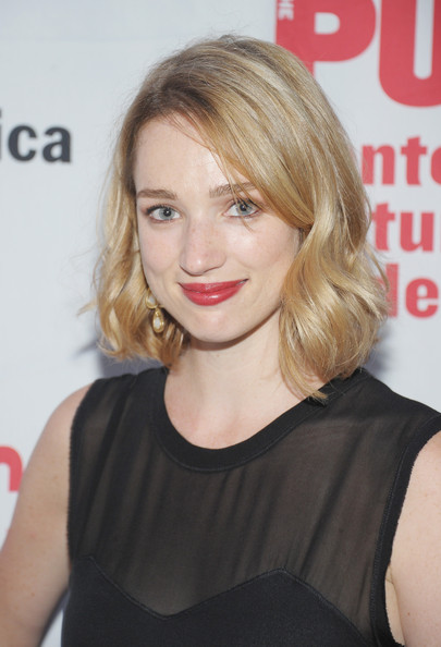 Kristen Connolly Short Wavy Cut [hair,hairstyle,blond,face,lip,beauty,chin,long hair,brown hair,layered hair,loves labours lost,public theater,delacorte theater,new york city,kristen connolly,opening night - arrivals,opening nght]