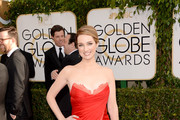 Kristen Connolly Strapless Dress