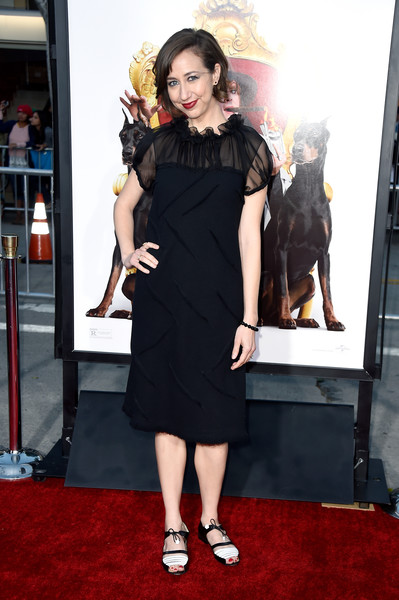 Kristen Schaal Little Black Dress