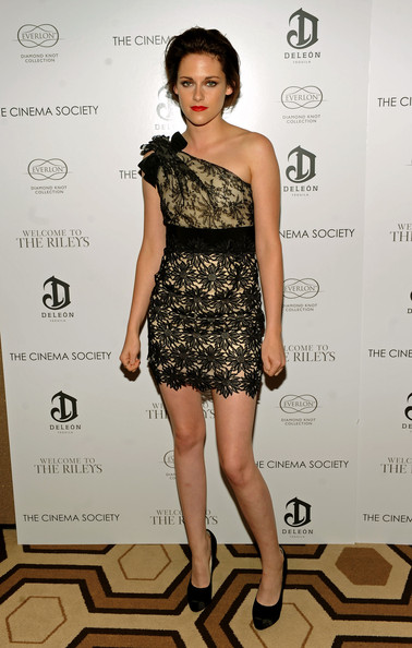 Kristen Stewart One Shoulder Dress