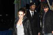 Actress Kristen Stewart is seen leaving Abe & Arthur's on December 13, 2012 in New York City.
