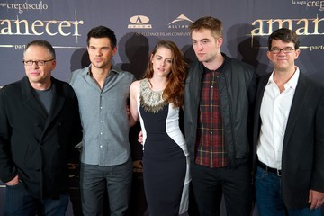 Kristen Stewart Robert Pattinson The Twilight Saga: Breaking Dawn Part 2 - Madrid Photocall