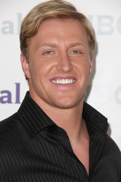 Kroy Biermann Side Parted Straight Cut
