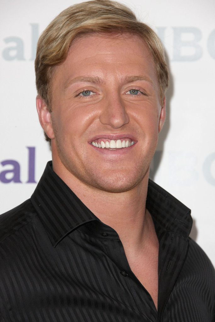 Kroy Biermann Side Parted Straight Cut Kroy Biermann