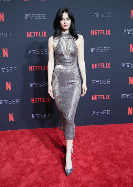 Krysten Ritter Halter Dress