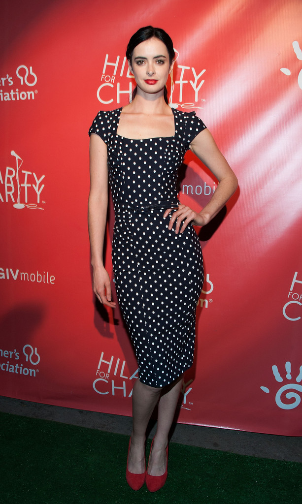 Krysten Ritter Print Dress Dresses Amp Skirts Lookbook