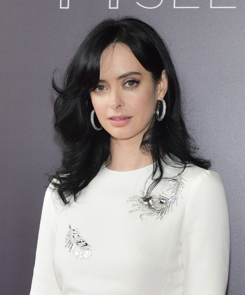 Krysten Ritter Diamond Hoops