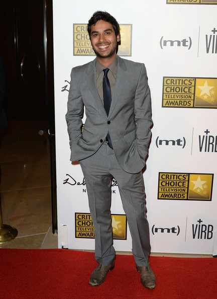 Kunal Nayyar Men's Suit