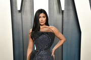 Kylie Jenner Strapless Dress