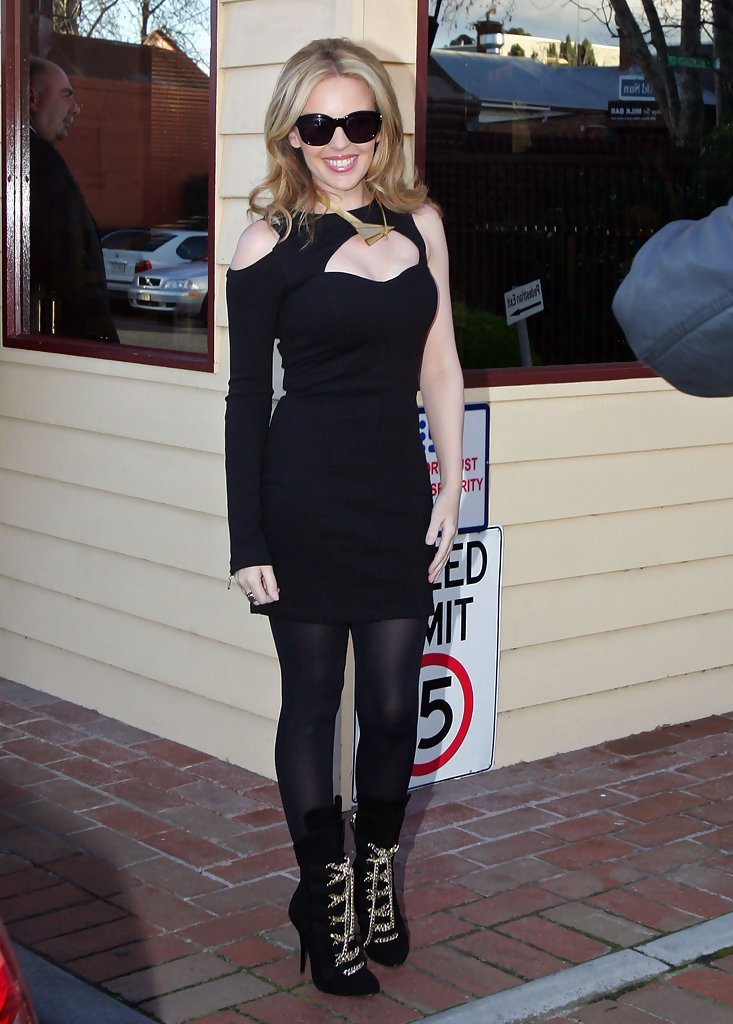 Kylie Minogue Lace Up Boots Kylie Minogue Looks