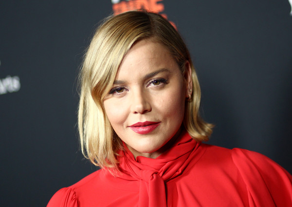 Abbie Cornish kept it simple with this bob at the LA Film Festival screening of 'Free Solo.'