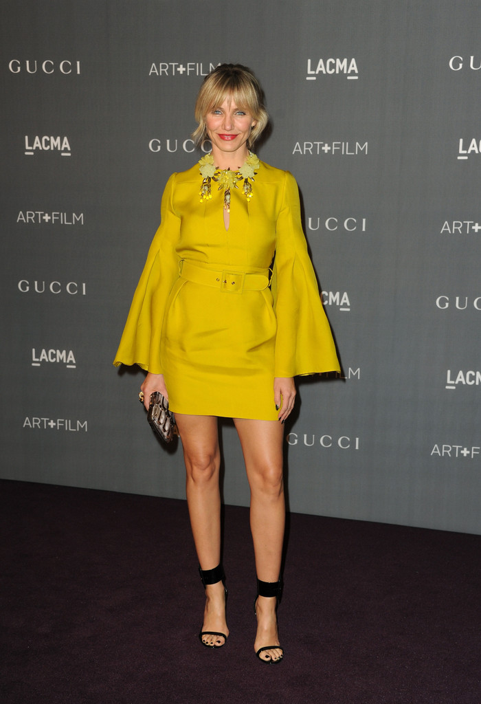 Actress Cameron Diaz arrives at LACMA 2012 Art + Film Gala at LACMA on October 27, 2012 in Los Angeles, California.