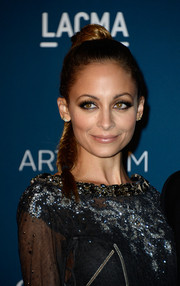 Nicole Richie looked enchanting with her high fishtail braid at the LACMA Art + Film Gala.