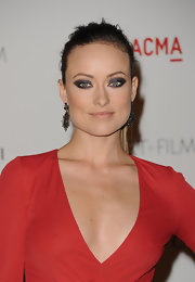 Olivia Wilde played up her eyes with dramatic shadows in shades of gunmetal gray and silver at the 2011 LACMA Art and Film Gala.