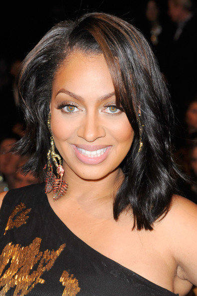 La La Anthony Leaf Earrings