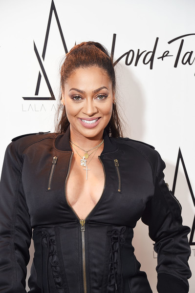 More Pics of La La Anthony Lace Up Boots (1 of 9) - Boots Lookbook - StyleBistro