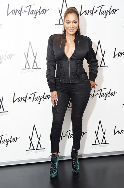 La La Anthony Fitted Jacket
