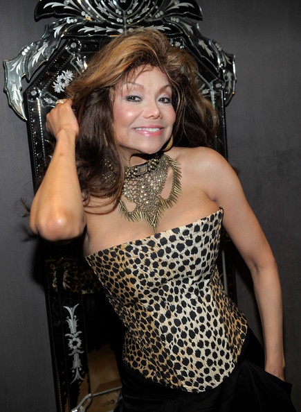 La Toya Jackson Bronze Statement Necklace