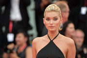 Elsa Hosk sported a retro-chic ponytail at the 2019 Venice Film Festival opening ceremony.