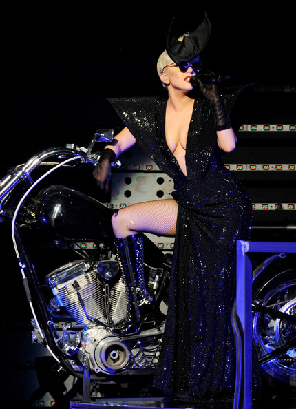 Lady Gaga Sequin Dress
