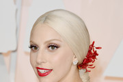 Lady Gaga Loose Ponytail