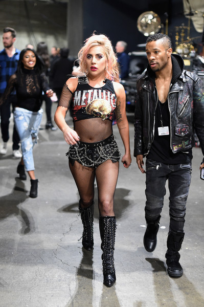 Lady Gaga Short Shorts