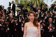Laetitia Casta Strapless Dress