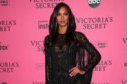 Lais Ribeiro Sheer Dress