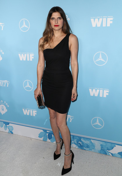 Lake Bell One Shoulder Dress