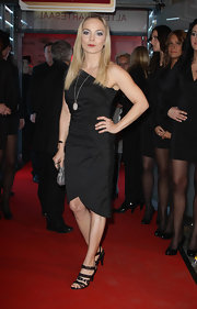 Regina donned a one-shoulder LBD for the Shoko & Fashion party in Germany.