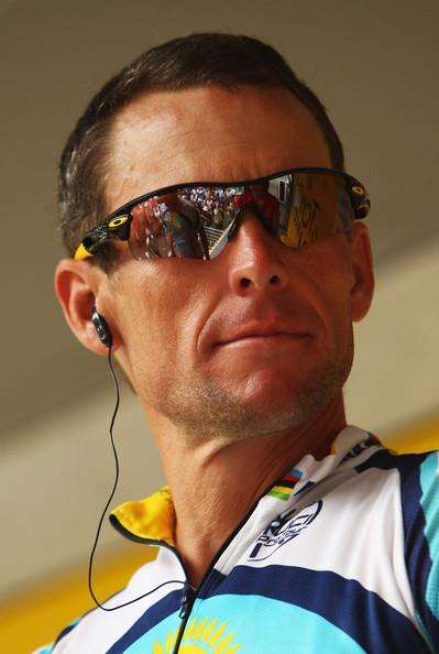 Lance Armstrong Buzzcut