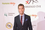 Lance Bass Men's Suit