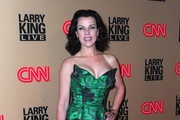 Actress Debi Mazar arrives at CNN's