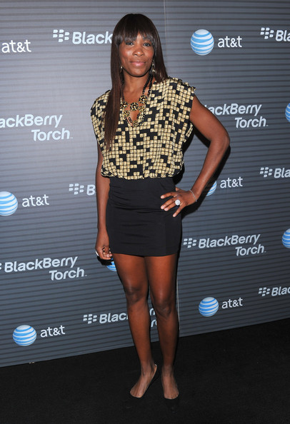 More Pics of Venus Williams Layered Gold Necklace (1 of 5) - Venus Williams Lookbook - StyleBistro