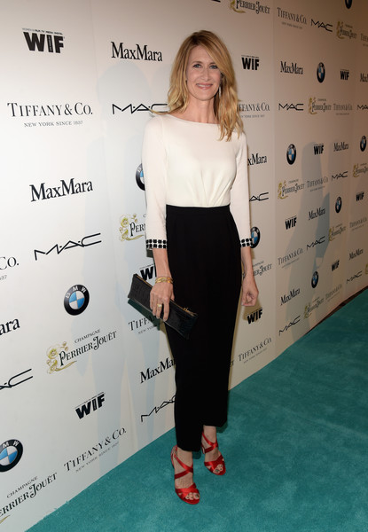 Laura Dern Leather Clutch