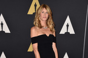 Laura Dern Off-the-Shoulder Dress