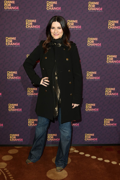 Laura Pausini Wool Coat