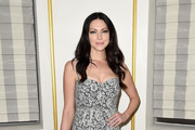 Laura Prepon Printed Clutch