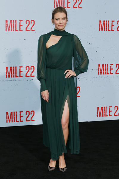 Lauren Cohan Cutout Dress