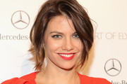 Lauren Cohan Messy Cut