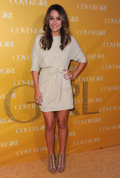 Lauren Conrad Cocktail Dress [clothing,fashion model,footwear,beauty,flooring,lady,leg,shoulder,cocktail dress,dress,arrivals,lauren conrad,covergirl cosmetics,covergirl cosmetic,west hollywood,california,party,50th anniversary party]