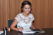 Reality TV Personality Lauren Conrad promotes